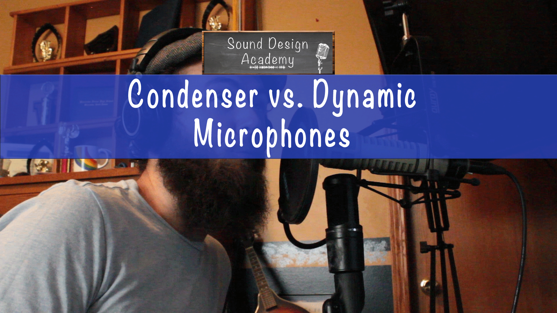condenser vs dynamic mics