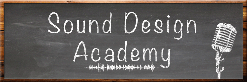Sound Design Academy header image
