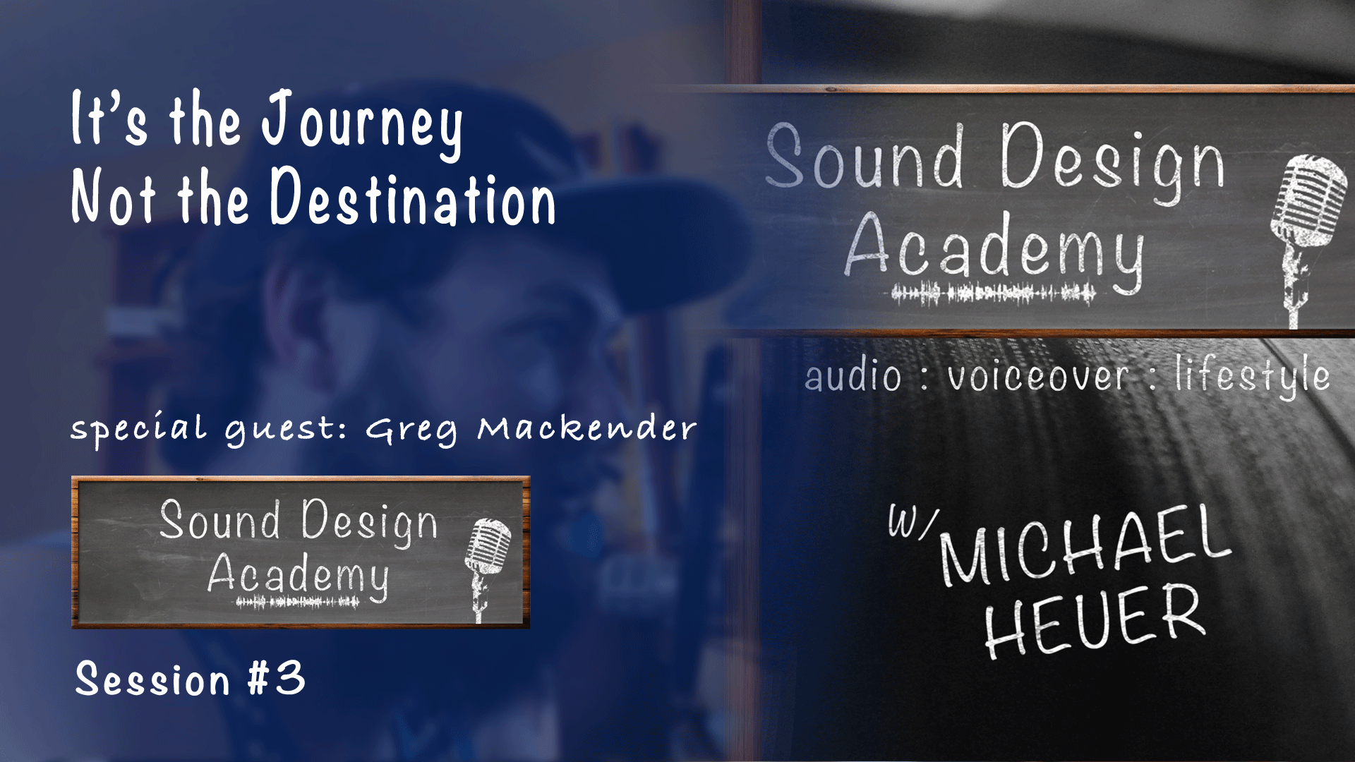 its the journey not the destination with greg mackender