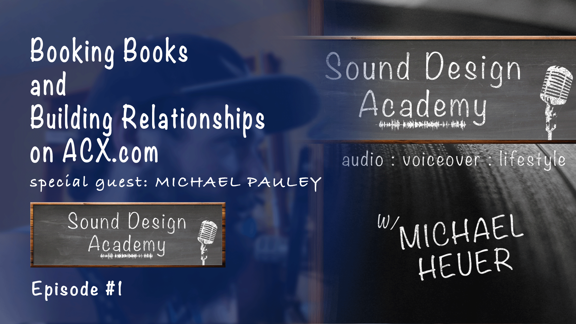 SDA 001: Booking Books and Building Relationships on acx.com with Michael Pauley