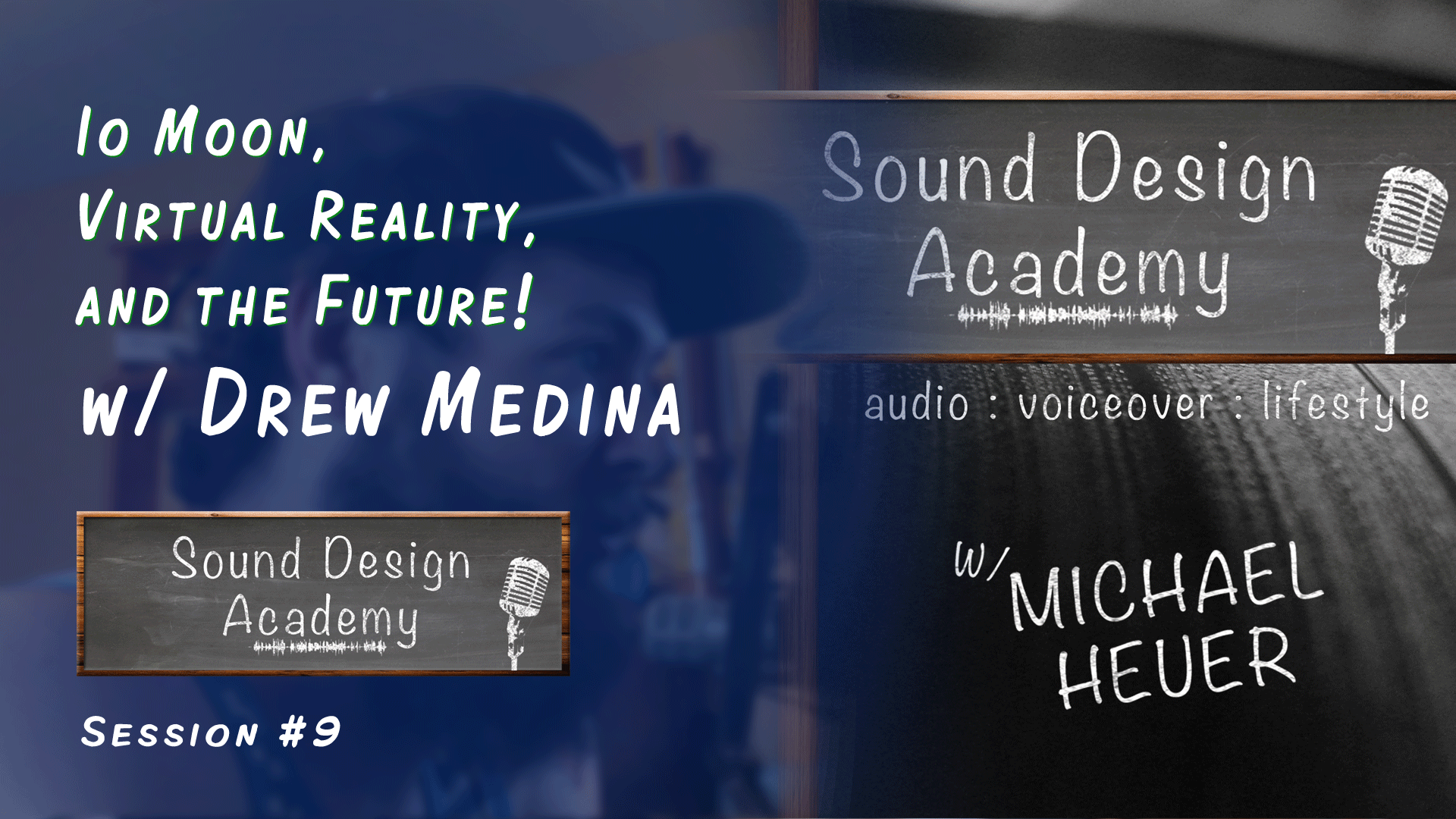 game sound design podcast with drew medina from headtrip games